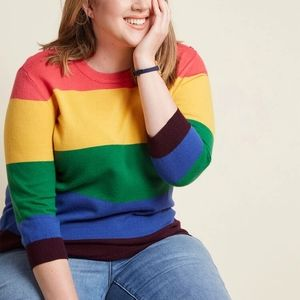 Modcloth Charter School Pullover Sweater